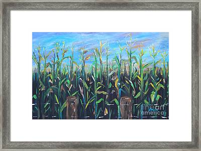 Hoosier View Framed Print