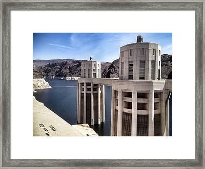 Hoover Dam Framed Print by Derek Conley