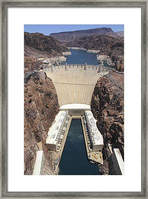 Hoover Dam Framed Print by Mike McGlothlen