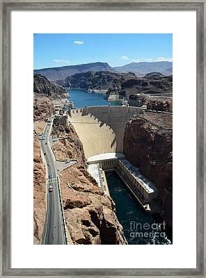 Hoover Dam Framed Print by RicardMN Photography