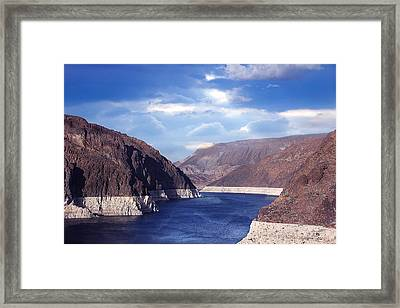 Hoover Dam Framed Print by Yosi Cupano