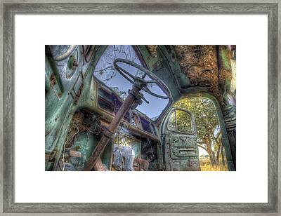 Hop In Framed Print by Micah Goff