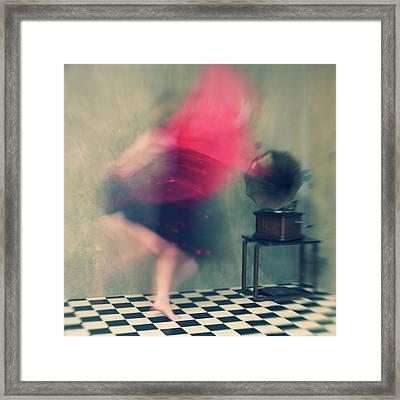 Hop Skip And Jump Framed Print by Mel Brackstone