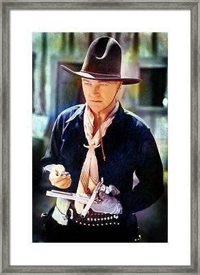Hopalong Cassidy Framed Print