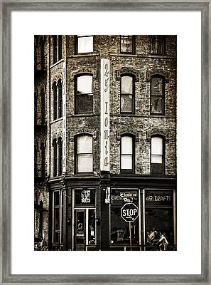 Hopcat Grand Rapids Michigan Framed Print by Dan Sproul