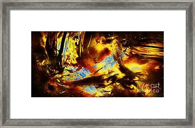 Hope Above Broken Skies Framed Print by Kyle Wood