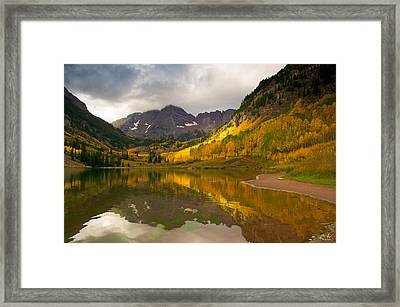 Hope And Despair  Framed Print by Aaron Spong
