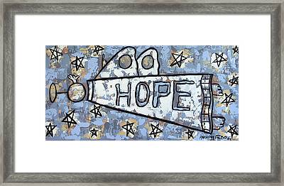 Hope Framed Print by Anthony Falbo