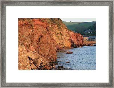 Hope Cove Framed Print