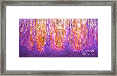 Hope Diptych Framed Print by Marcella Nordbeck