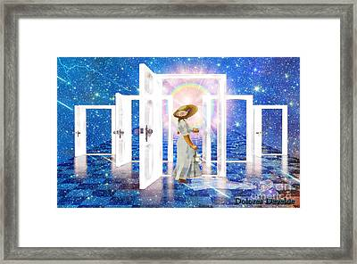 Hope Framed Print by Dolores Develde