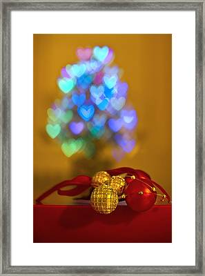 Hope Every Day Is A Happy New Year Framed Print by Evelina Kremsdorf