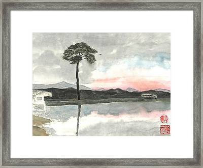 Hope For The Lone Pine Framed Print