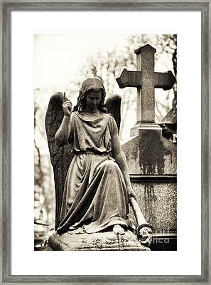 Hope From Above Framed Print by John Rizzuto