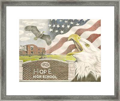 Hope High School Framed Print
