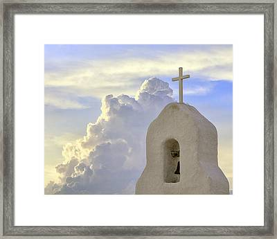 Hope In The Storm Framed Print