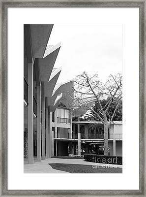 Hope International University Center Framed Print by University Icons