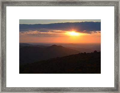 Framed Print featuring the photograph Hope Is Like The Sun by Melanie Moraga