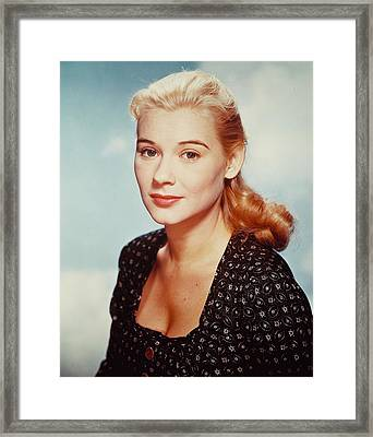 Hope Lange Framed Print by Silver Screen