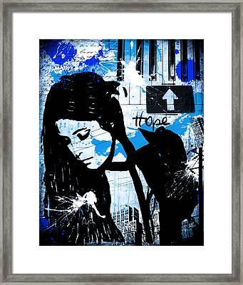 Hope Framed Print by Melissa Smith