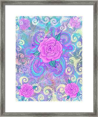 Hope Roses Framed Print by Alixandra Mullins