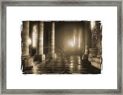 Hope Shinning Through Framed Print by Mike McGlothlen