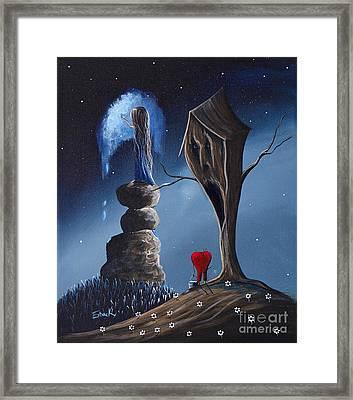 Hope Still Lives Here By Shawna Erback Framed Print by Shawna Erback
