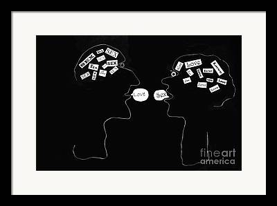 Innermost Thoughts Framed Prints