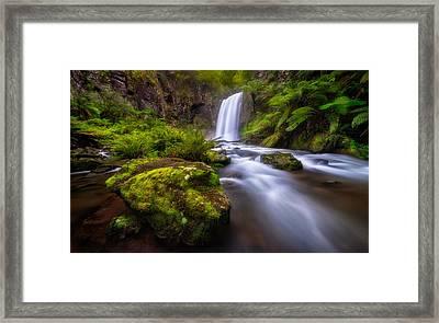 Hopetoun Falls Framed Print by Lincoln Harrison