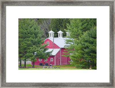 Hopewell Living History Farm Framed Print by Bill Cannon