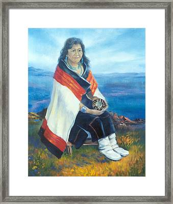 Hopi Friend  Framed Print