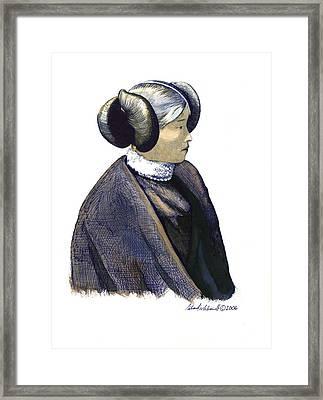 Hopi Girl Framed Print by Richard Schmidt