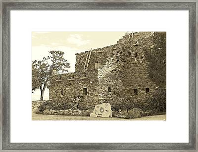 Hopi House Framed Print