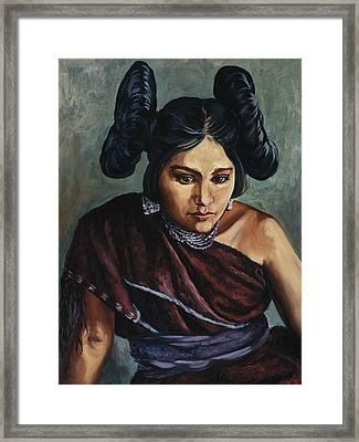 Hopi Jewel Framed Print