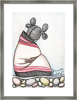 Hopi Mana 3 - Aceo Framed Print by Dalton James