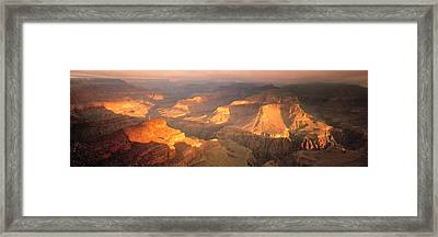 Hopi Point Canyon Grand Canyon National Framed Print by Panoramic Images