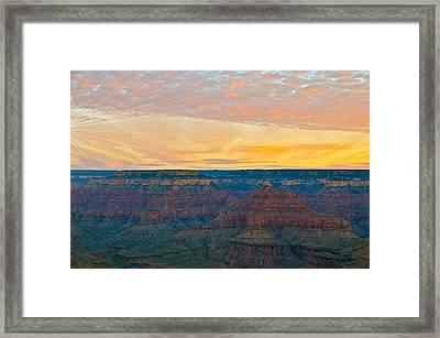 Hopi Point Grand Canyon Framed Print by Matthew Heller