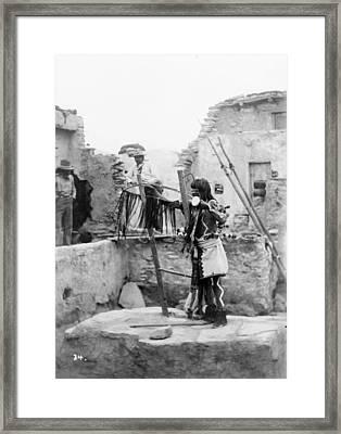 Hopi Priest, C1899 Framed Print