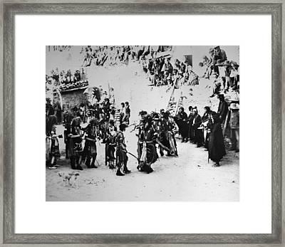 Hopi Snake Dance, 1903 Framed Print