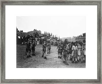 Hopi Snake Dance, 1921 Framed Print