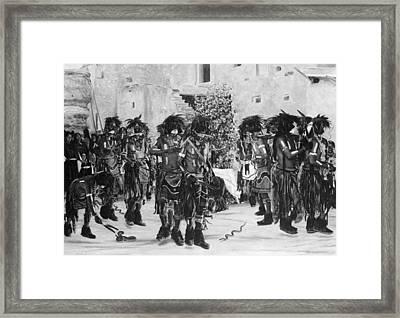 Hopi Snake Dance, C1909 Framed Print