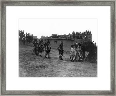Hopi Snake Dancers, 1921 Framed Print by Granger