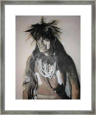 Hopi Snake Priest Framed Print