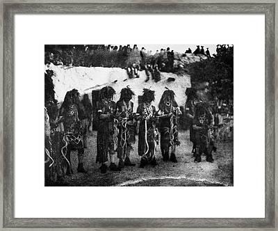 Hopi Snake Priests, 1906 Framed Print