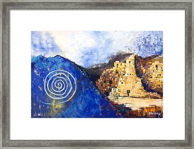 Hopi Spirit Framed Print by Jerry McElroy