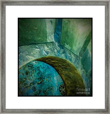 Hopi Tower 3 Framed Print