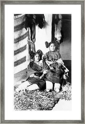 Hopi Women, C1898 Framed Print