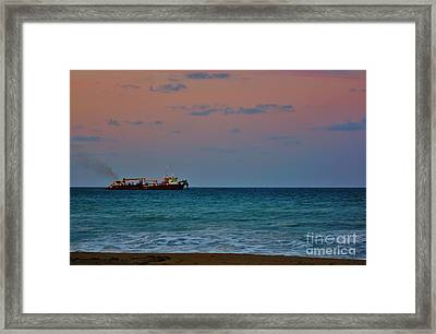 Hopper Dredge 2 Framed Print