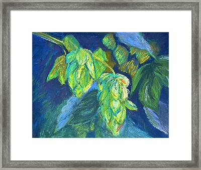 Hoppiness And Harmony Framed Print by Beverley Harper Tinsley