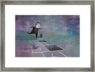 Hopscotch2 Framed Print